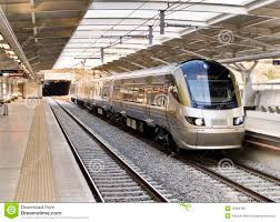 Commuter Rail by Gautrain High Speed Commuter Train Editorial Image Image 16309780