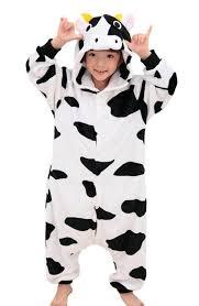Halloween Costumes Kids Animals Childrens Cosplay Costume Girls Boys Hooded Sleepsuit