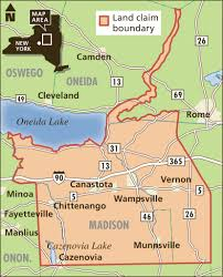 Circuit Court Map Appeals Court Dismisses Oneida Indians U0027 40 Year Old Land Claim