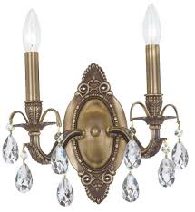 Antique Brass Wall Sconce Brass Wall Sconce Lighting Home Design Ideas