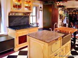 multi level kitchen island kitchen room wrapping funky vintage rock garden and design