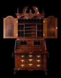 Secretary Desk Bookcase Buy A Handmade Secretary Desk Upper Bookcase Solid Mahogany
