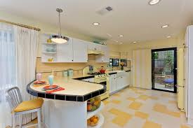 kitchen flooring ideas vinyl kitchen retro kitchen flooring design and isnpiration black white