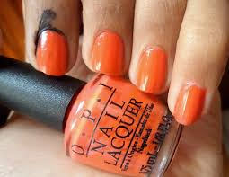opi atomic orange free shipping at nail polish canada