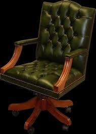 fauteuil de bureau cuir fauteuil de bureau anglais gainsborough longfield 1880