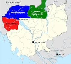 provinces of cambodia loss to thailand during franco thai war