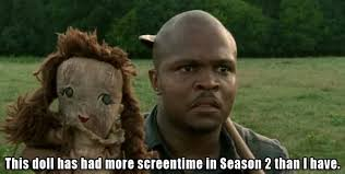 T Dogg Walking Dead Meme - image walking dead meme t dog this doll gets more airtime than