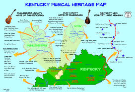 Ohio Kentucky Map by Join