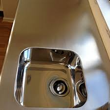 shine stainless steel sink before and after kitchen benches and sinks stainless restorations
