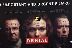 police remove tube advert for u0027denial u0027 film about anti semitism it