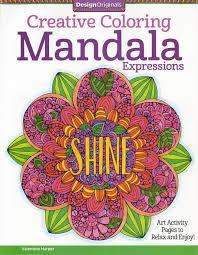 design pages to color design originals creative coloring mandala expressions