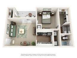 Three Bedroom Apartment Floor Plans by One Two And Three Bedroom Apartments In Kennesaw Ga