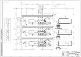 reciprocating compressor station schematic and layout diagram