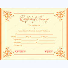 wedding gift certificate templates