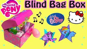 My Little Pony Blind Bags Box Lps Mystery Surprise Handmade Blind Bags Toys Cookieswirlc Fan
