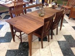 36 x 36 table solid walnut prairie dining table boulder furniture arts