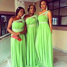 lime green chiffon bridesmaid dresses 2016 one shoulder lace