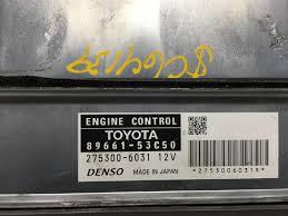 2009 lexus is250 factory warranty 2009 lexus is250 is350 pn 89661 53c50 engine computer ecm ecu