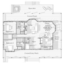 Brady Bunch Floor Plan by Coastal Beach House