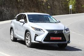 lexus nx vs rx 2016 lexus rx rendered bigger suv 3 row version to replace gx