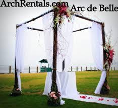 Wedding Arches Rental In Orlando Fl Modern Clear Acrylic Wedding Columns At Four Seasons Biltmore