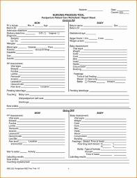 Nursing Report Sheet Templates Nursing Report Template Nursing Shift Change Report Sheet