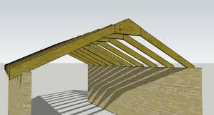 framing is a ridge beam necessary for a small shed roof home