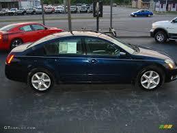 Nissan Maxima 2005 Interior 2005 Majestic Blue Metallic Nissan Maxima 3 5 Se 15781774