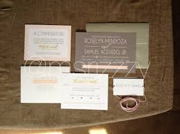 vista print wedding programs our wedding invitations msrizzzy