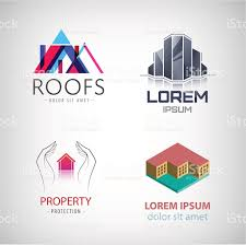 home and design logo home and real estate logo collection house office repair eco stock