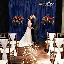 Wedding Backdrop Uk Shinybeauty 84inx84in Navy Blue Sequin Backdrop Glitter Sequin