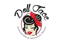 professional feminine vector design by syd aitken ballard vector design by syd aitken ballard for logo illustration dollface permanent makeup
