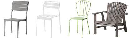 sedia da giardino ikea sedie da esterno per terrazzo o giardino sedie