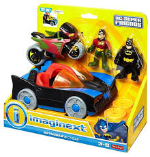 imaginext batmobile with lights fisher price imaginext dc super friends imaginext batmobile and cycle