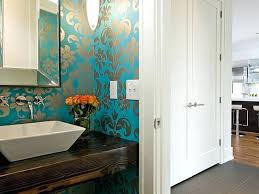 funky bathroom wallpaper ideas modern bathroom wallpaper 0 lust worthy statement bathroom