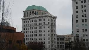 Portland City Flag Max Service Restored Following High Rise Fire In Downtown Portland
