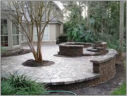 Simple Patio Design Interesting Simple Brick Patio Designs With Clay Paver Inside