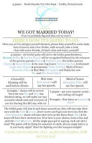 Wedding Reception Program Template Wedding Reception Template For Dj Finding Wedding Ideas