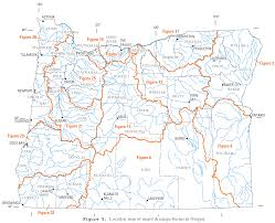 Map Of Coos Bay Oregon by File Usgs Oregon River Basins Png Wikimedia Commons