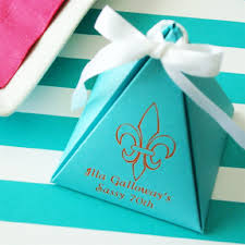 personalized favor boxes personalized pyramid favor box favor boxes favor packaging