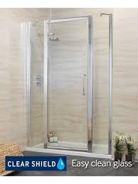 glass shower door hinge adjustment