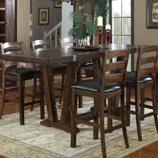 pub style dining table pub dining room set table bar height kabujouhou home 18 amazing sets