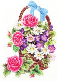flower baskets pencil drawing of simple flower baskets pencil drawing of flower