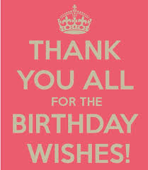 Happy Birthday Thank You Quotes Thank You Quotes Pinterest Birthdays Happy Birthday