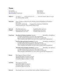 Microsoft Word Resume Template 2007 Resume Format For Word 2007 Attorney Resume Word Template Ecwe