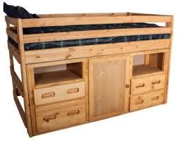 Trend Wood Bunkhouse Junior Loft Bed Homemakers Furniture - Trendwood bunk beds