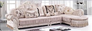 style sofa combination living room sofa solid wood carved small