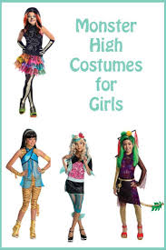 Monster High Halloween Costumes Girls Great Selection Of Monster High Costumes For Girls Monster High