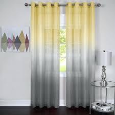 White And Yellow Curtains Best Chevron Blackout Curtains U Empowerwomeninafricacom Pict Of