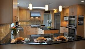 Kitchen Design With Peninsula Granite Kitchen Design Peninsula Cannabishealthservice Org